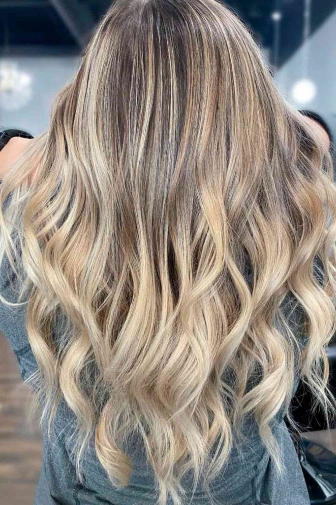 Blonde Highlighted Hair