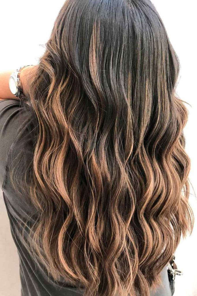 Brown Ombre Hairstyles for Long Hair
