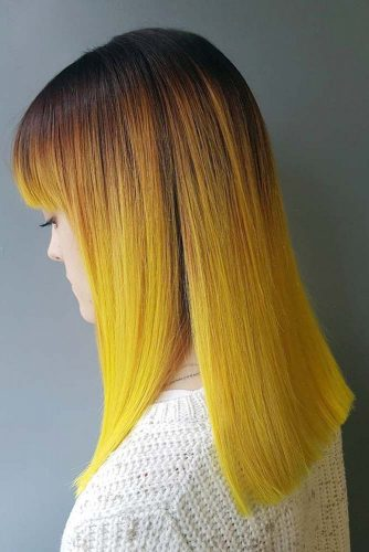 Sleek Ombre on Long Hair picture1