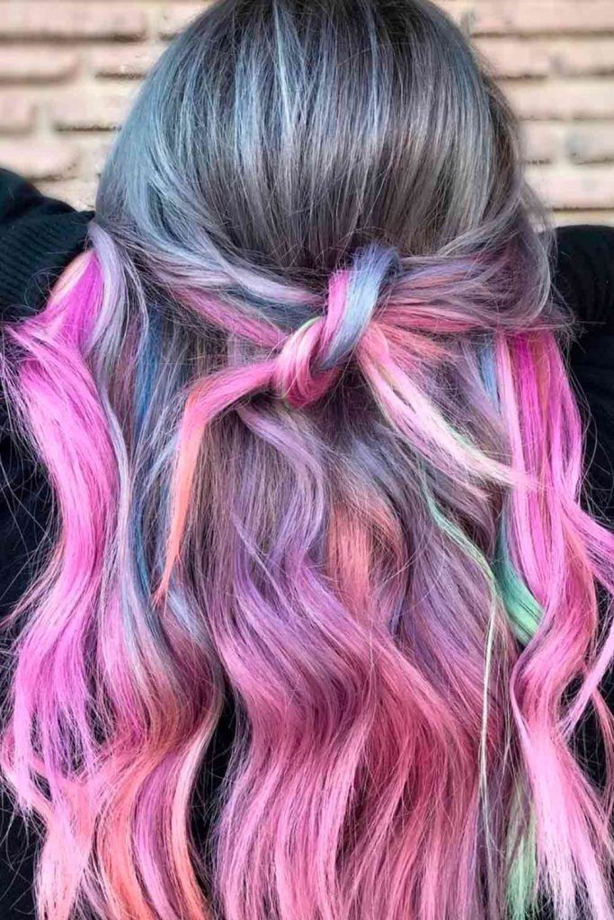 Popular Colorful Ombre Hair Ideas