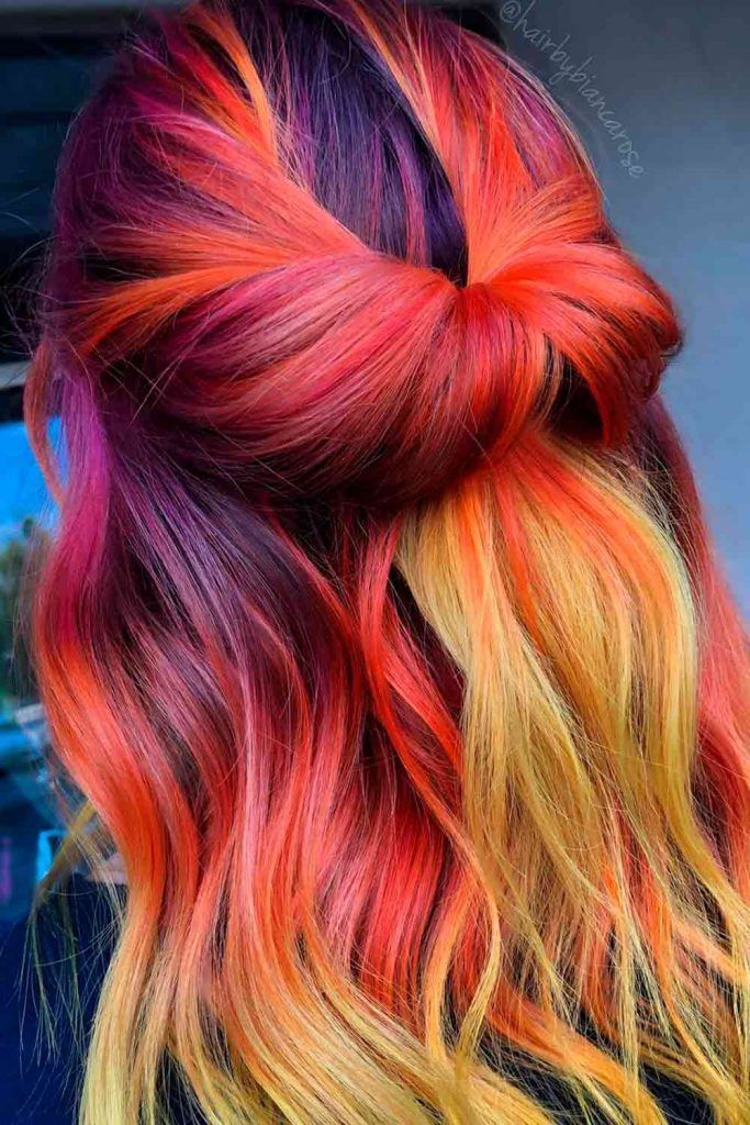 Fantastic Color Ombre Hairstyles