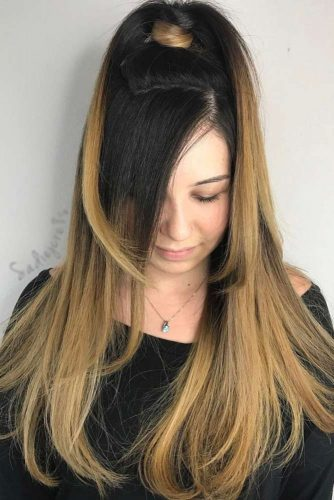 Black to Dirty Blonde Ombre picture2