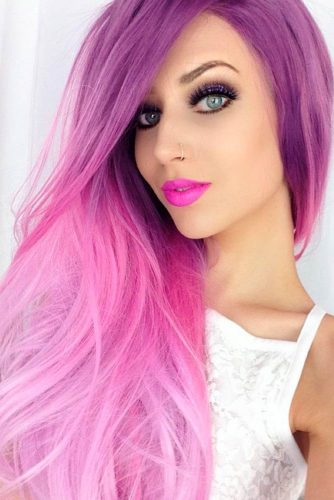 Interesting Purple Hairstyles picture3