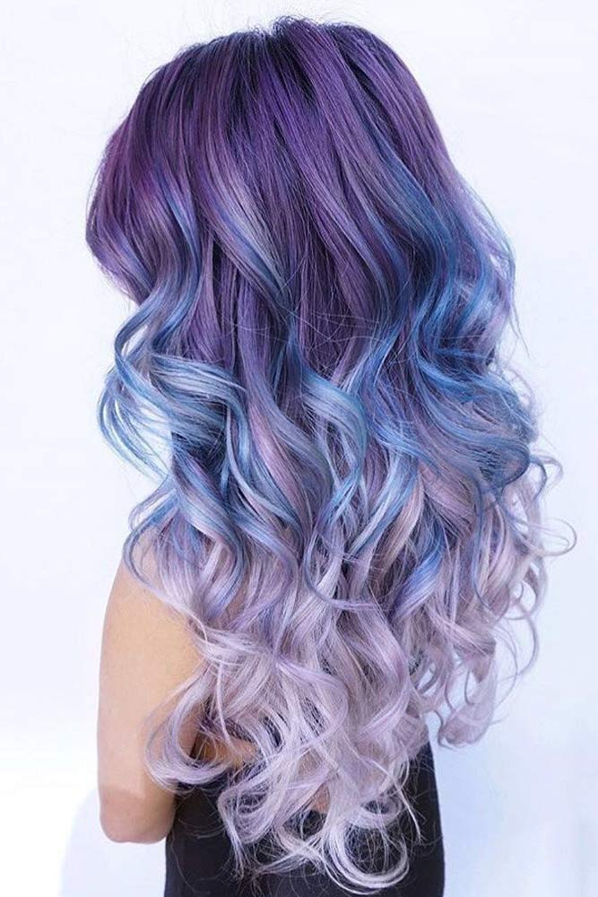 Violet Ombre Hair Color picture2