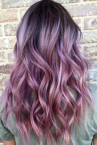 Violet Hair Color Ideas picture2