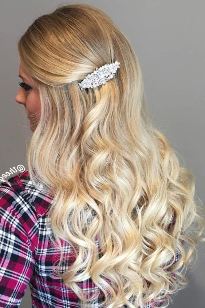 Cute Hairstyles with Hair Barrettes picture3