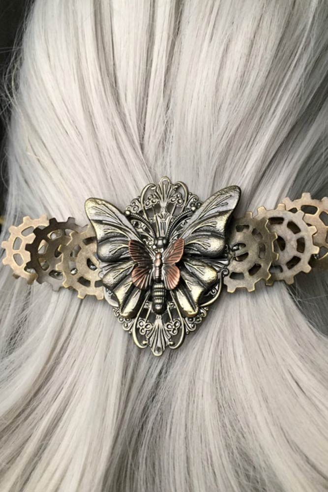 Hair Barrettes Butterfly picture2
