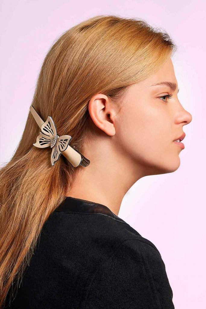 Hair Barrettes Butterfly