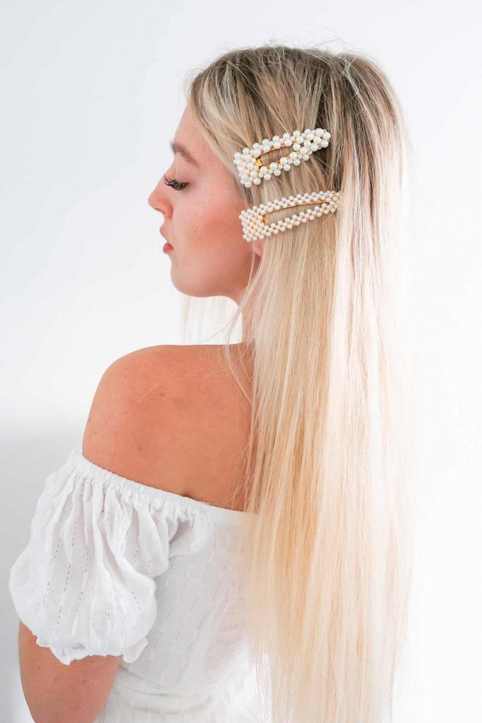 Hair Barrettes For Long Blonde Hair