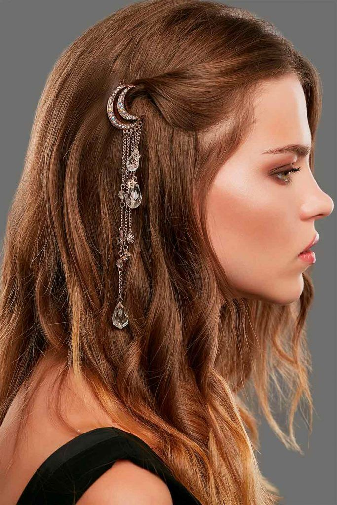 Hair Barrettes For Long Hairstyles