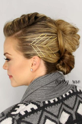 Bobby Pin Updos Hairstyles picture3