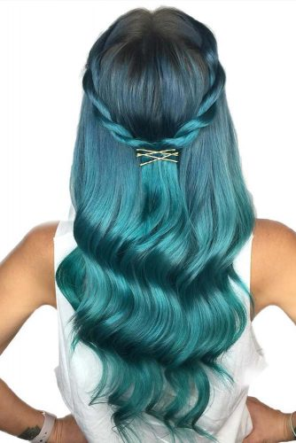 Colorful Hairstyles with Pins picture3