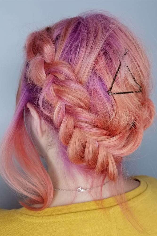 Braids with Bobby Pins picture1