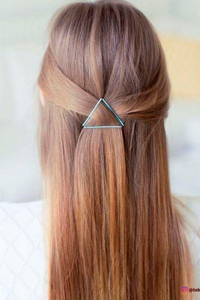 Elegant Hairdo With Pins