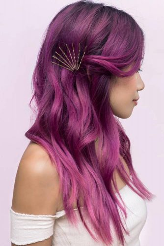 Colorful Hairstyles with Pins picture1