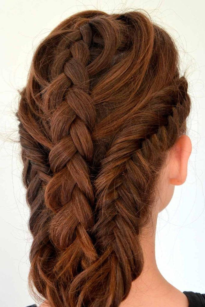 Stacked Braid Hairstyles