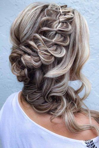Braided Crown Half-Up #winterhairstyles