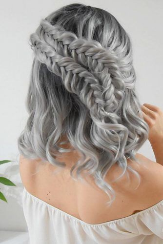 Fishtail Dutch Braids#winterhairstyles