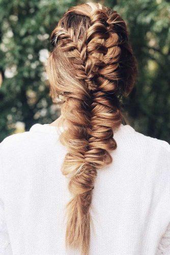 Infinity Topsy Tail Braids #braids #longhair