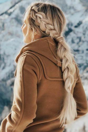 Side Braids Pony #braids