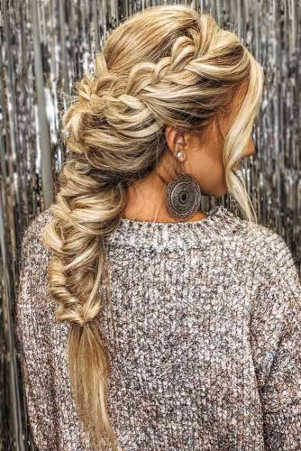 French Topsy Tail Braids #braids #longhair