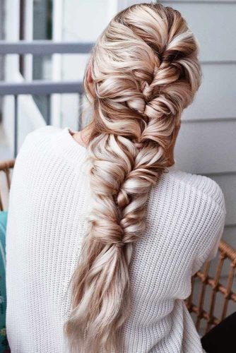 Long Topsy Tail Braids #braids #longhair