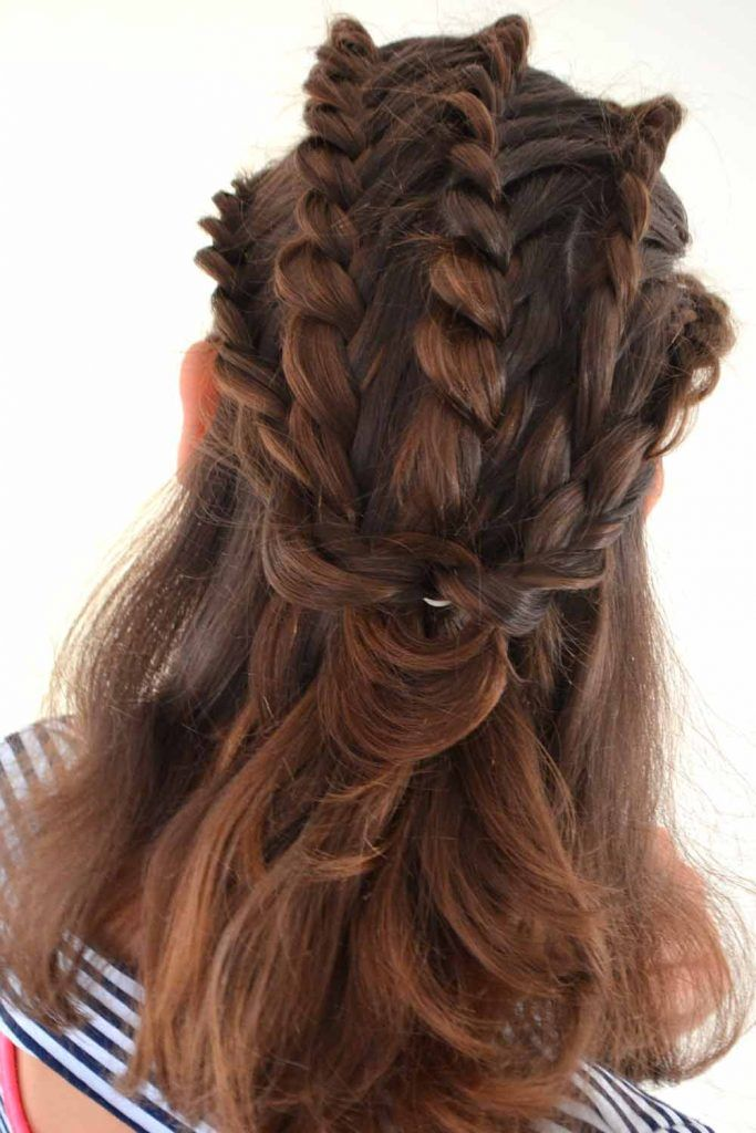Braided Half-Up Styles