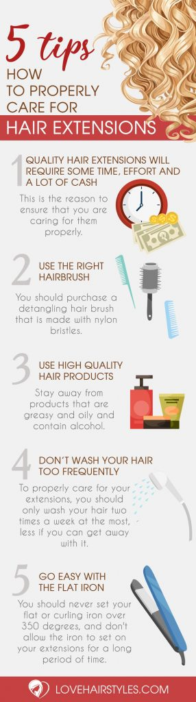 Helpful Tips on How to Properly Care for Hair Extensions