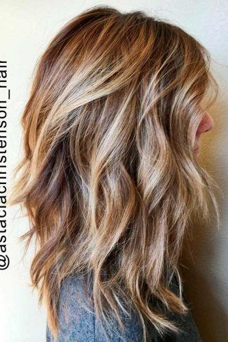 Beach Wavy Medium Length Hairstyles picture 3