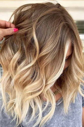 Fresh Style Ideas For Medium Hair #mediumhair #wavyhair