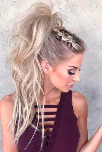 Cornrows Into Ponytails Dutch #braids #updo #ponytail