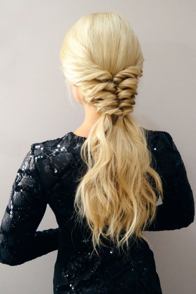 Topsy Tail Pony #ponytails #updo