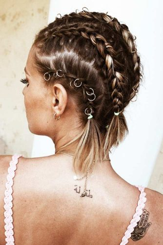 30 Cute Braided Hairstyles For Short Hair Lovehairstyles Com