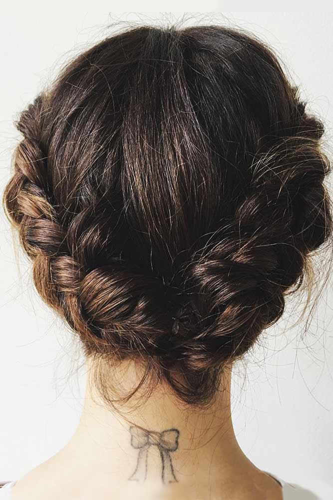 Eye-Catching Braided Updos Crown #braids #updo
