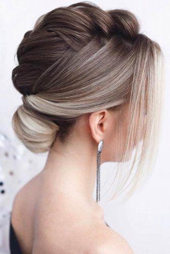 Marvelous Braid Hairstyles #braids #updo #bun #shorthair