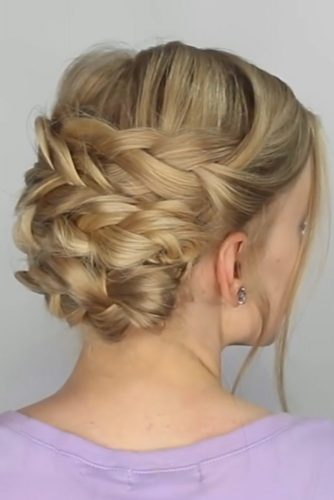 Easy Braided Updos Tutorial