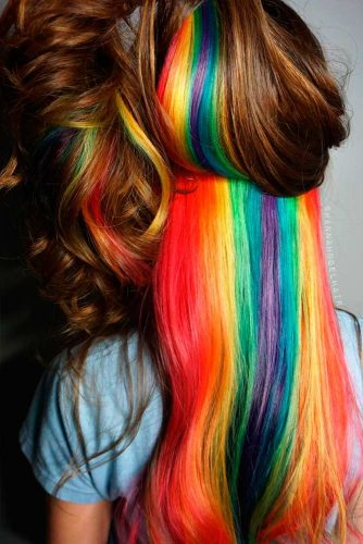 Rainbow Colors Hair to Amaze Everyone picture 1