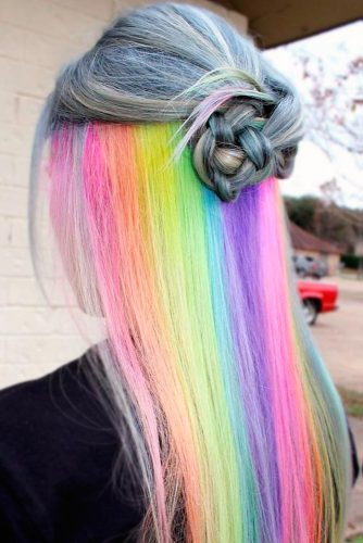Magic Hidden Rainbow Hair picture 1