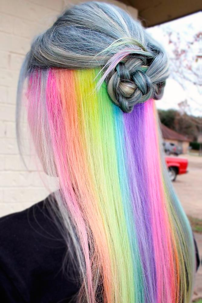 Magic Hidden Rainbow Hair picture 1