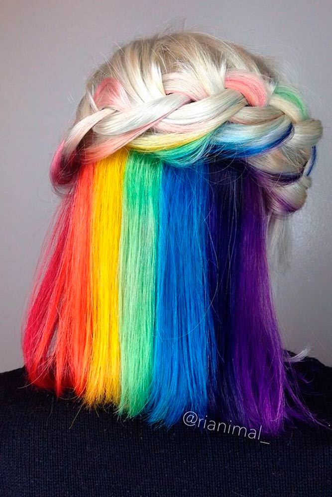 Magic Hidden Rainbow Hair picture 3