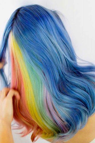 Magic Hidden Rainbow Hair picture2