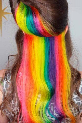 Beautiful Hidden Rainbow Hair picture1