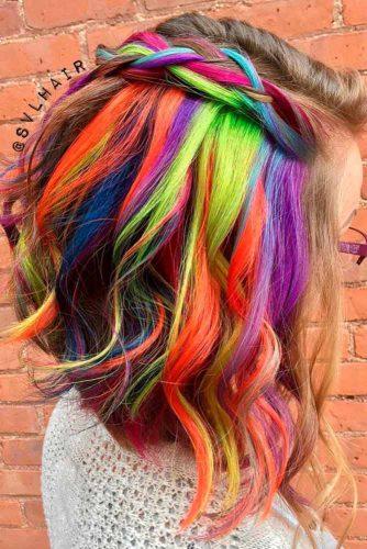 Beautiful Hidden Rainbow Hair picture2