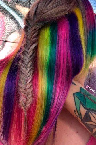 Beautiful Hidden Rainbow Hair picture3