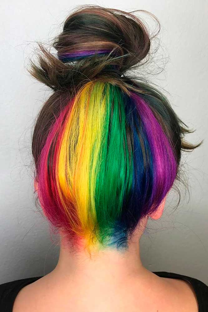 Cool Hidden Rainbow Hair picture2