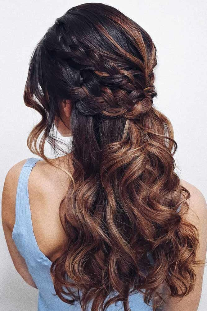 Braided Half-Ups Double #springhairstyles