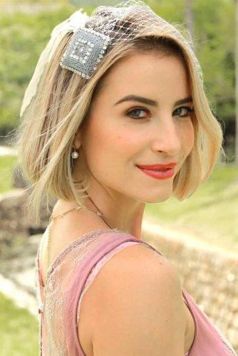 Beautiful Accessorized Styles for Short Hair picture1