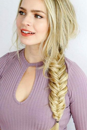 Easy Fishtail Braid Tutorial Lovehairstyles Com