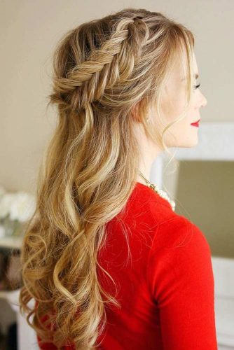 Hairstyles with Fishtail Braid picture1