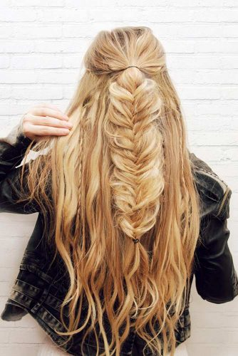 Hairstyles with Fishtail Braid picture2